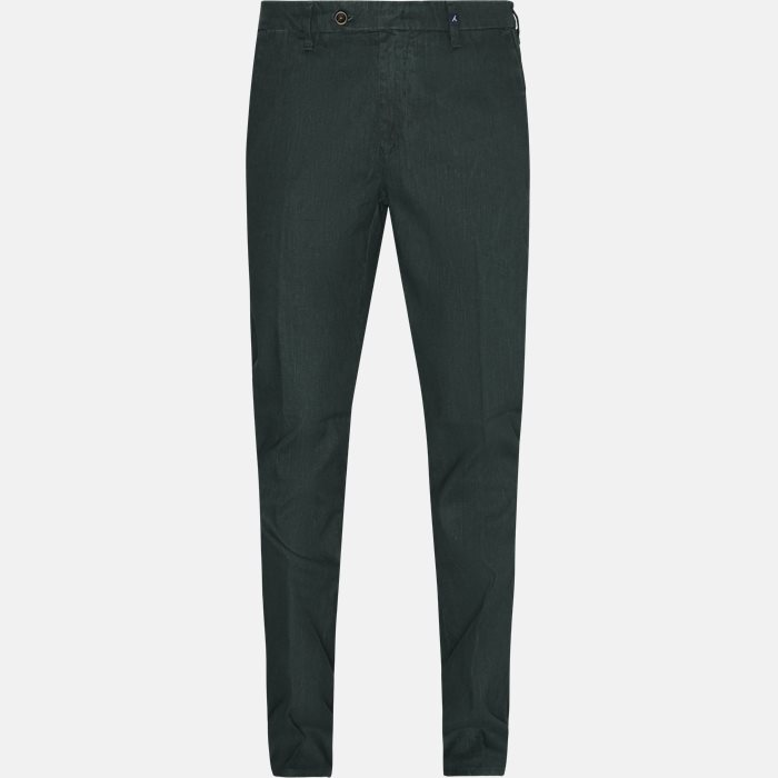 Trousers - Regular fit - Green