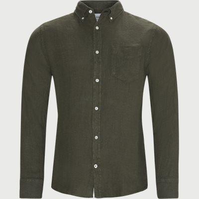 Levon Shirt Regular   Levon Shirt   Army