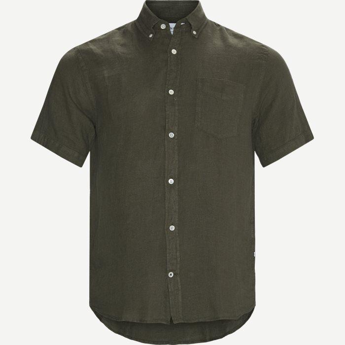 Tyrion Kortærmet Skjorte - Kortærmede skjorter - Regular - Army