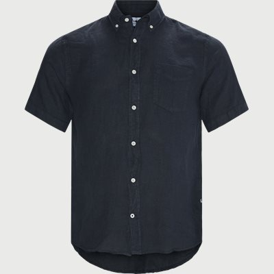 Regular | Short-sleeved shirts | Blue