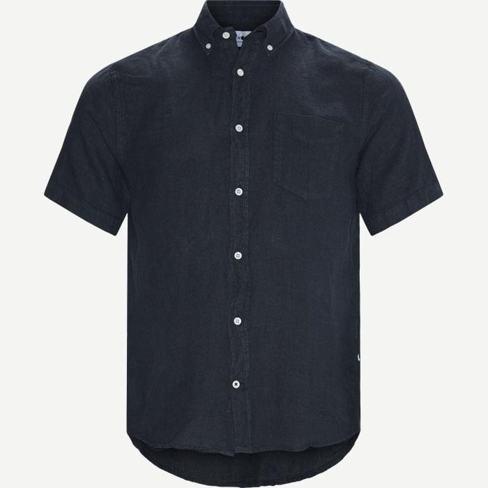 Tyrion Kortærmet Skjorte - Kortærmede skjorter - Regular - Blå