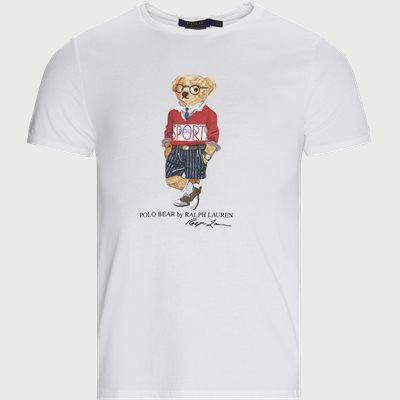 Bear Print Logo T-shirt Regular | Bear Print Logo T-shirt | Hvid
