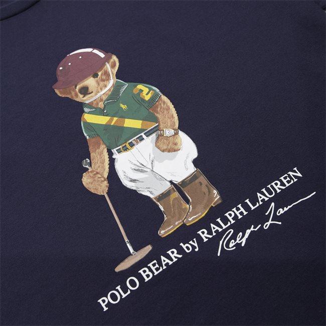 Bear Print Logo T-shirt