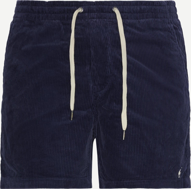 Corduroy Shorts - Shorts - Regular fit - Blå