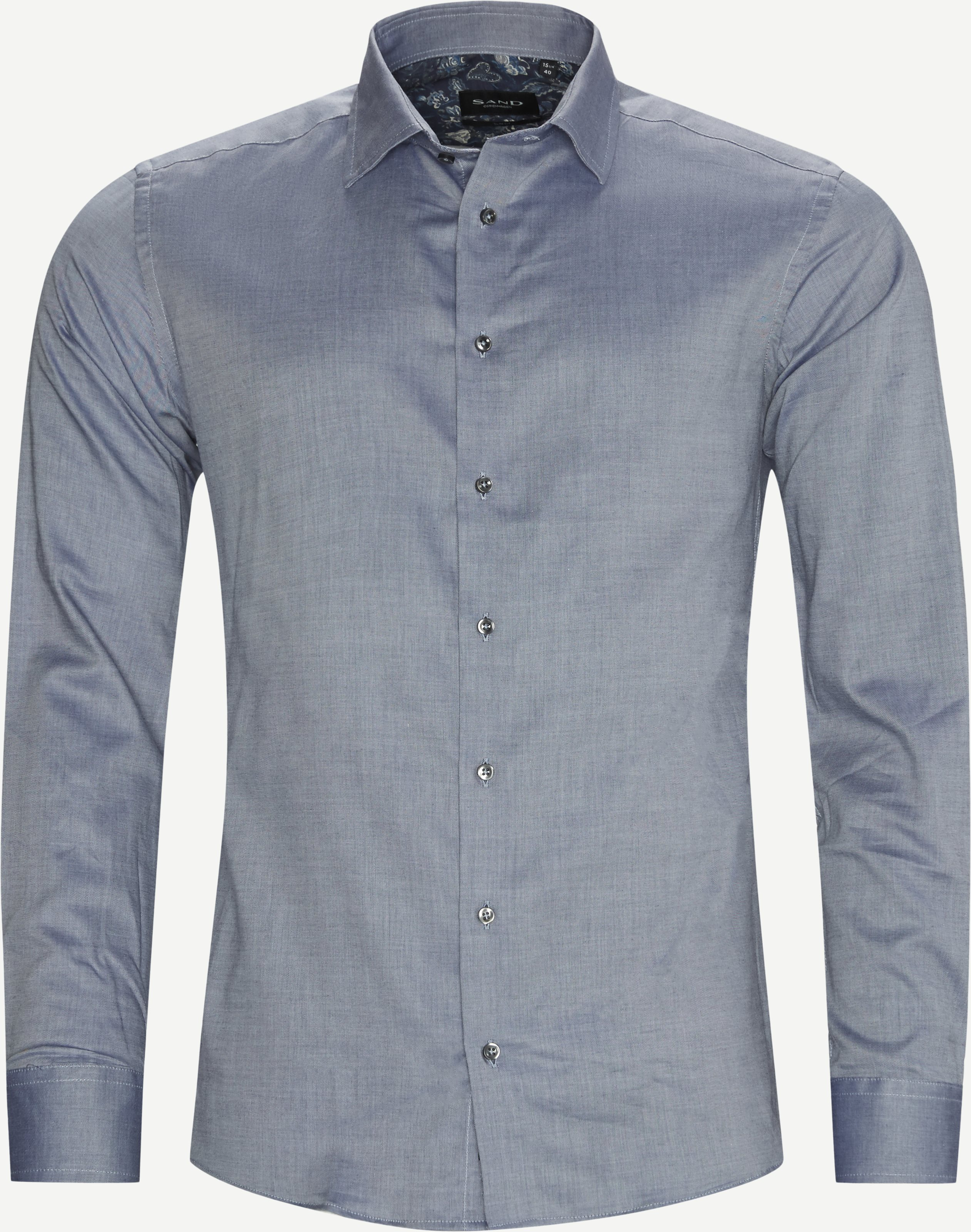8657 Iver 2 Soft/State 2 Soft Skjorte - Skjorter - Blå