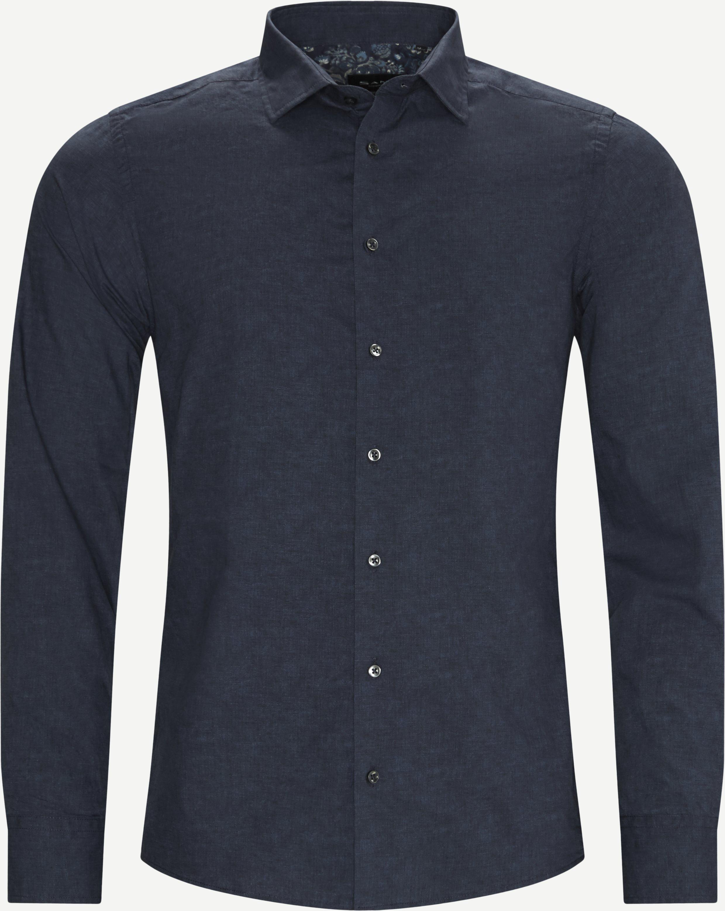 8669 Iver 2 Soft/State 2 Soft Skjorte - Skjorter - Blå