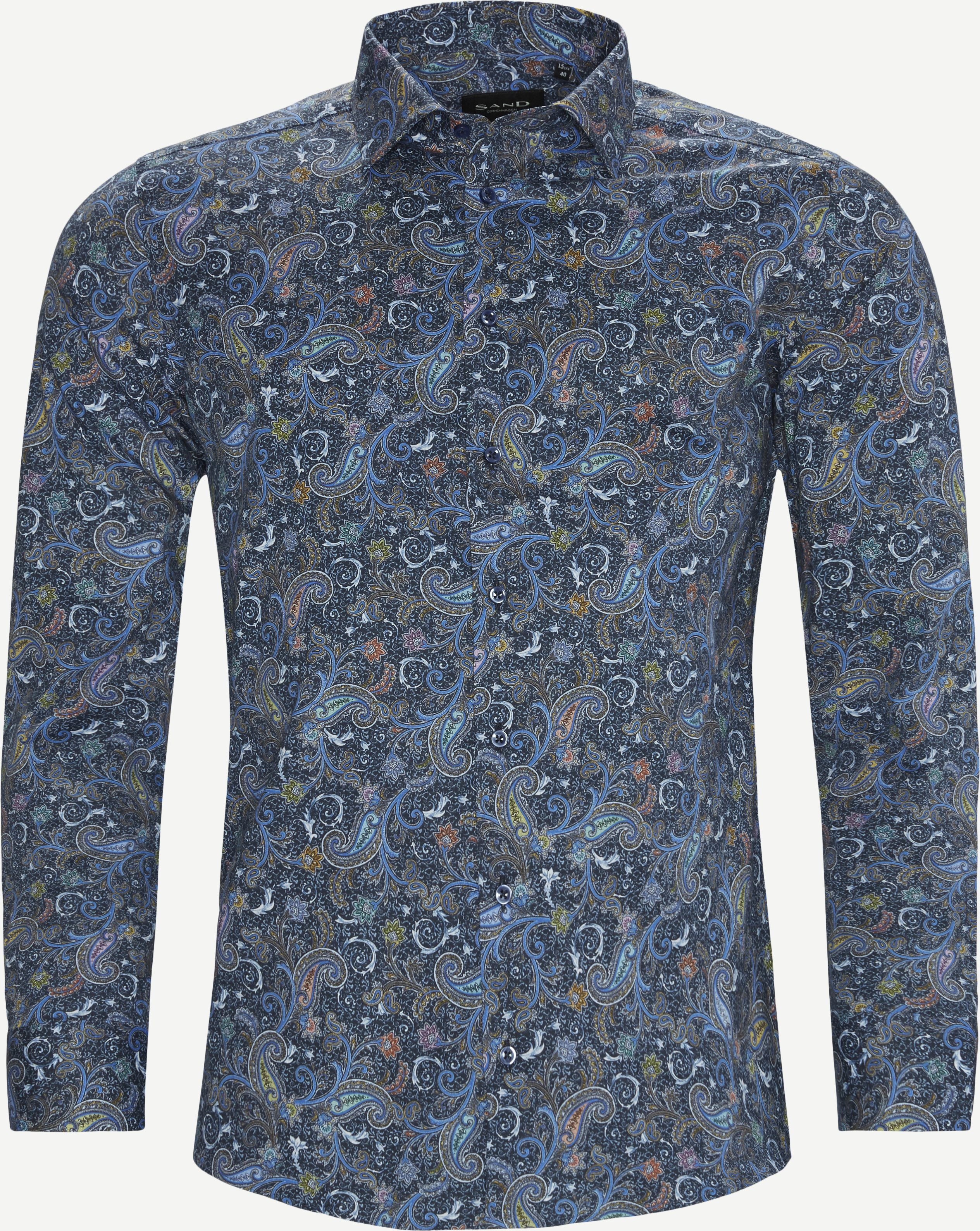 8639 Iver 2/State N 2 Skjorte - Skjorter - Blå