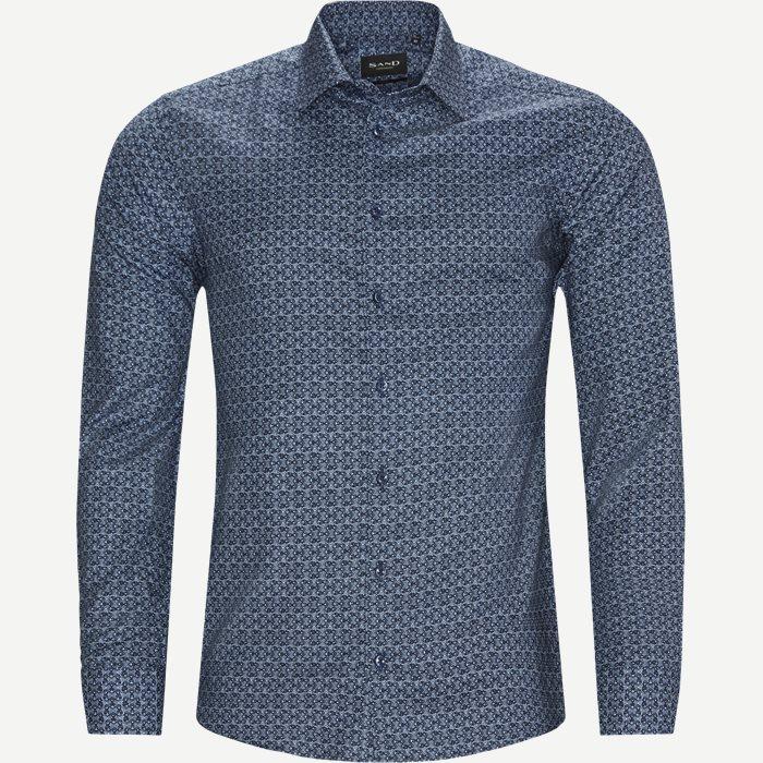 8642 Iver 2/State N 2 Skjorte - Skjorter - Blå
