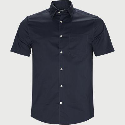Slim | Kortärmade skjortor | Blå