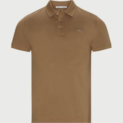 Darios Polo T-shirt Slim | Darios Polo T-shirt | Brun