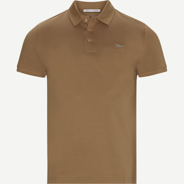 T-shirts - Slim - Brown