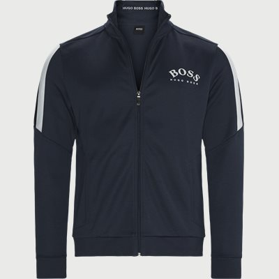 Skaz Zip Sweatshirt Regular | Skaz Zip Sweatshirt | Blå