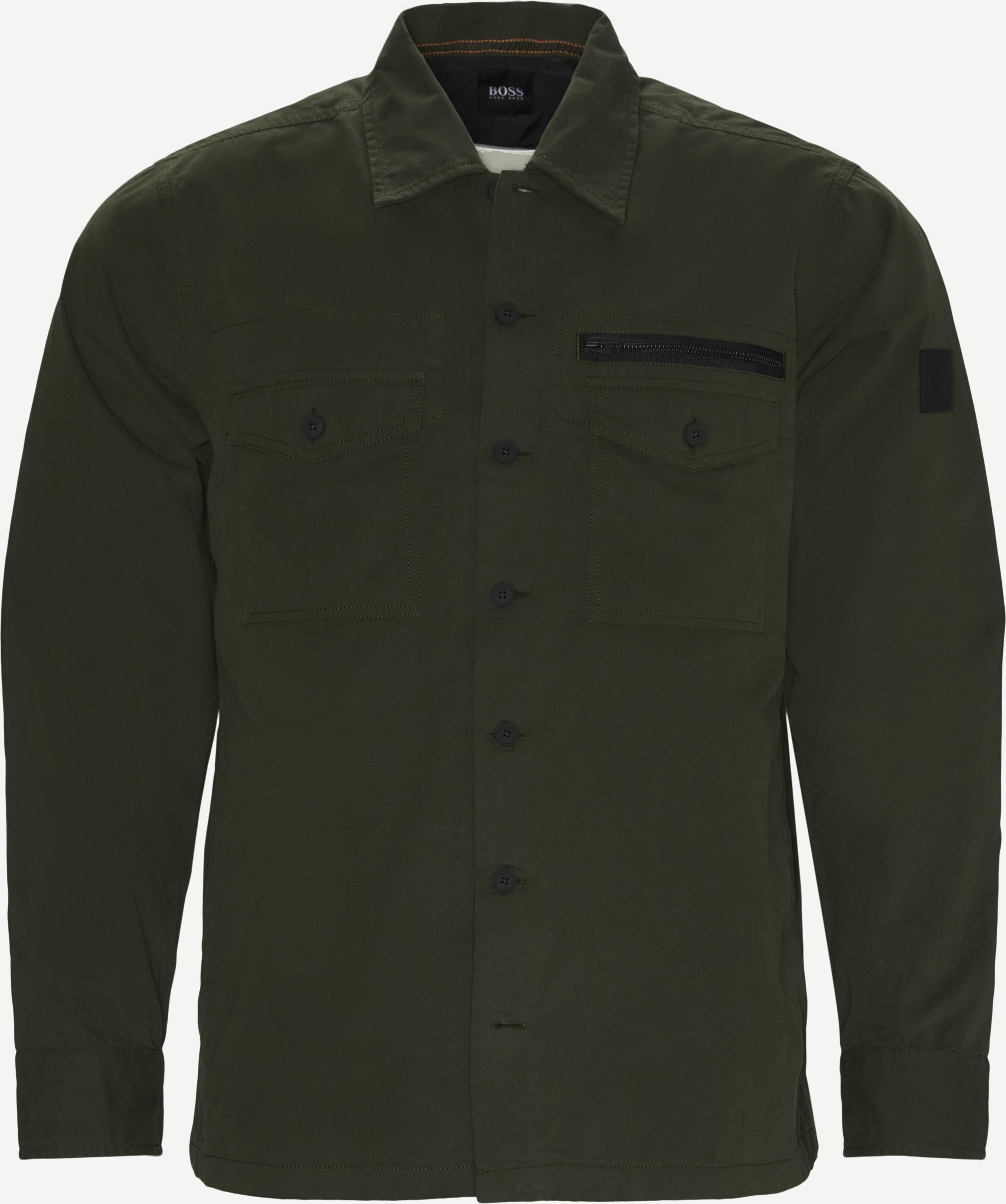 Lovel Skjorte - Shirts - Regular - Green