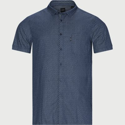 Magneton Kortærmet skjorte Slim | Magneton Kortærmet skjorte | Blå