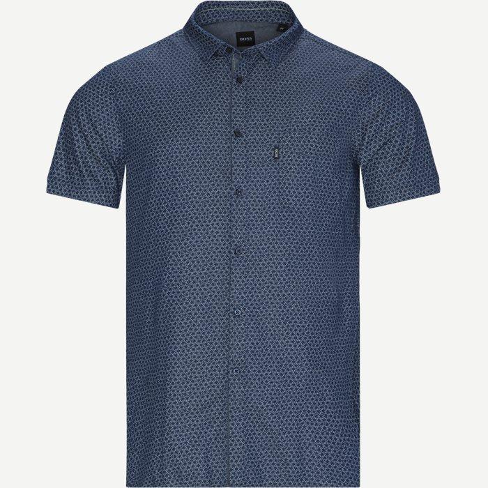 Magneton Kortærmet skjorte - Kortærmede skjorter - Slim - Blå