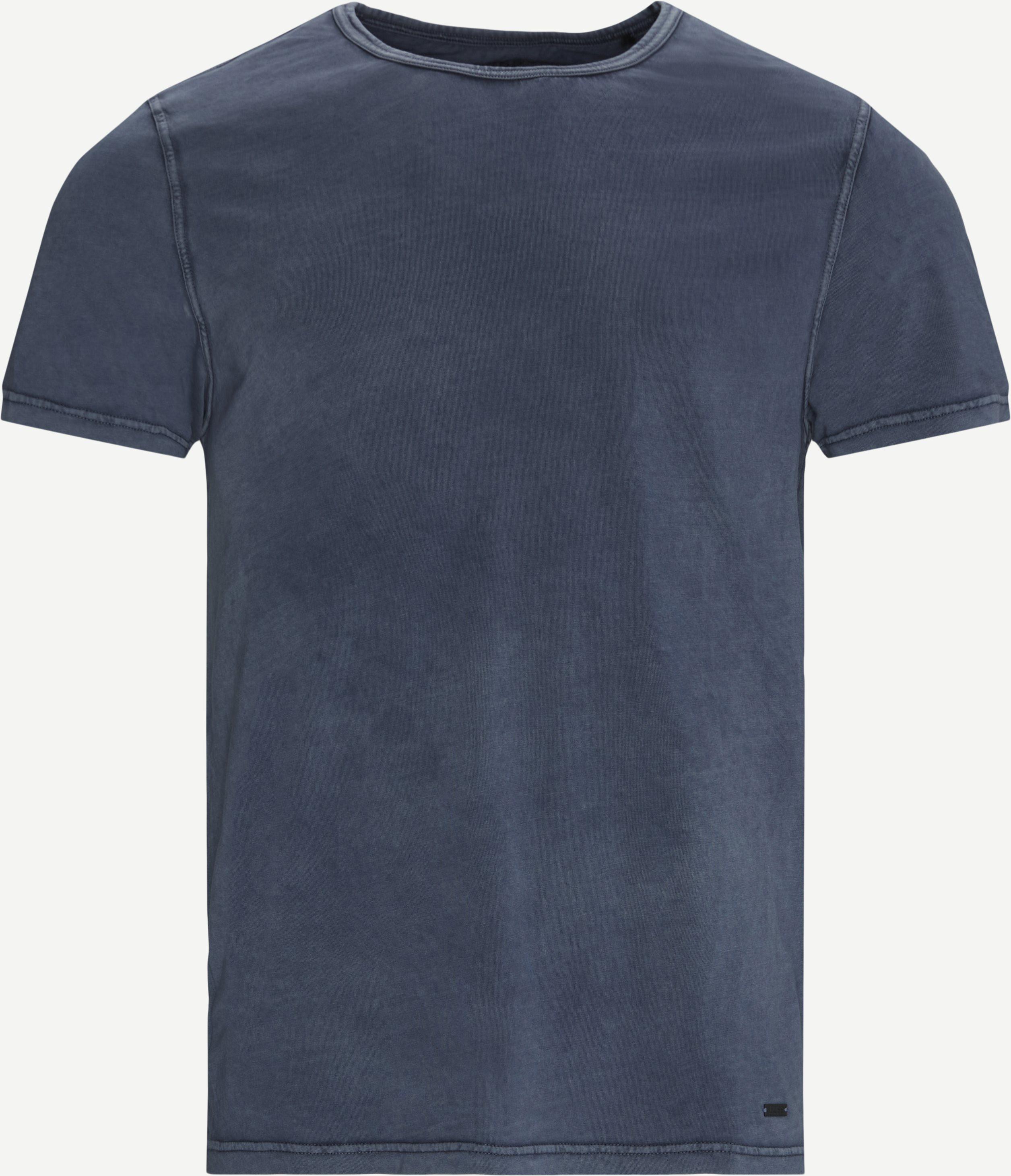BOSS Casual T-shirt - T-shirts - Regular - Blå