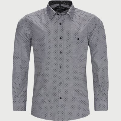 Ausburg Shirt Regular | Ausburg Shirt | Sort