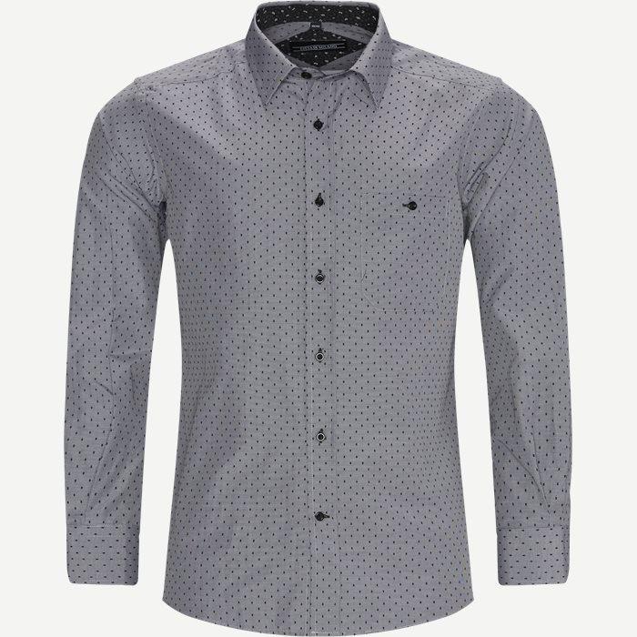 Hemden - Regular - Schwarz