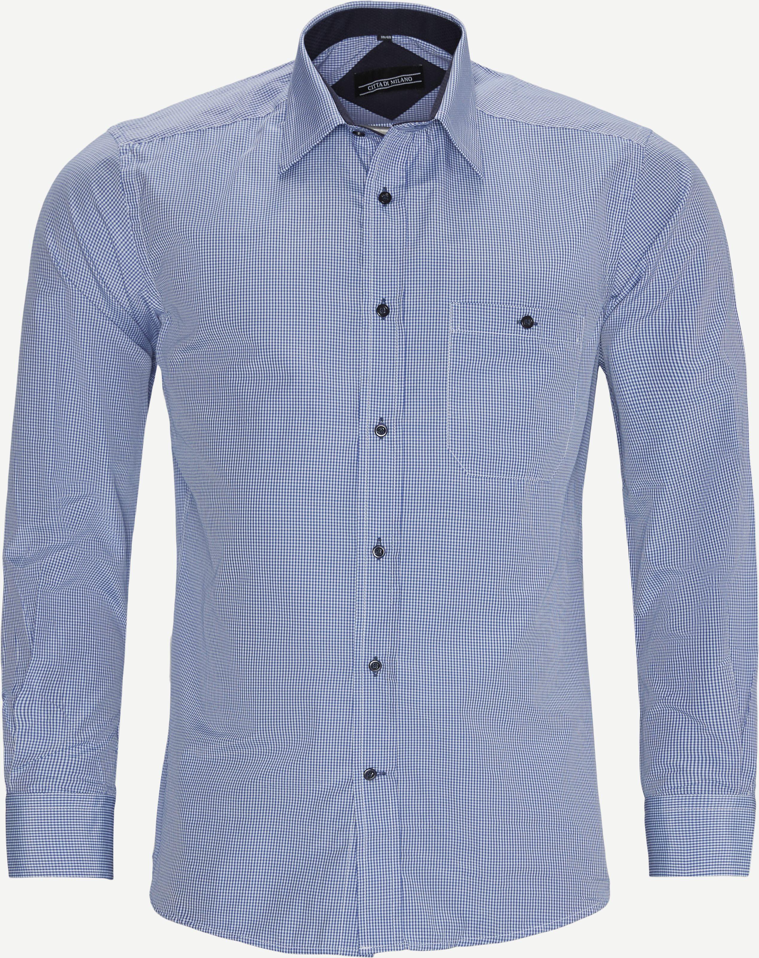 Hemden - Regular - Blau