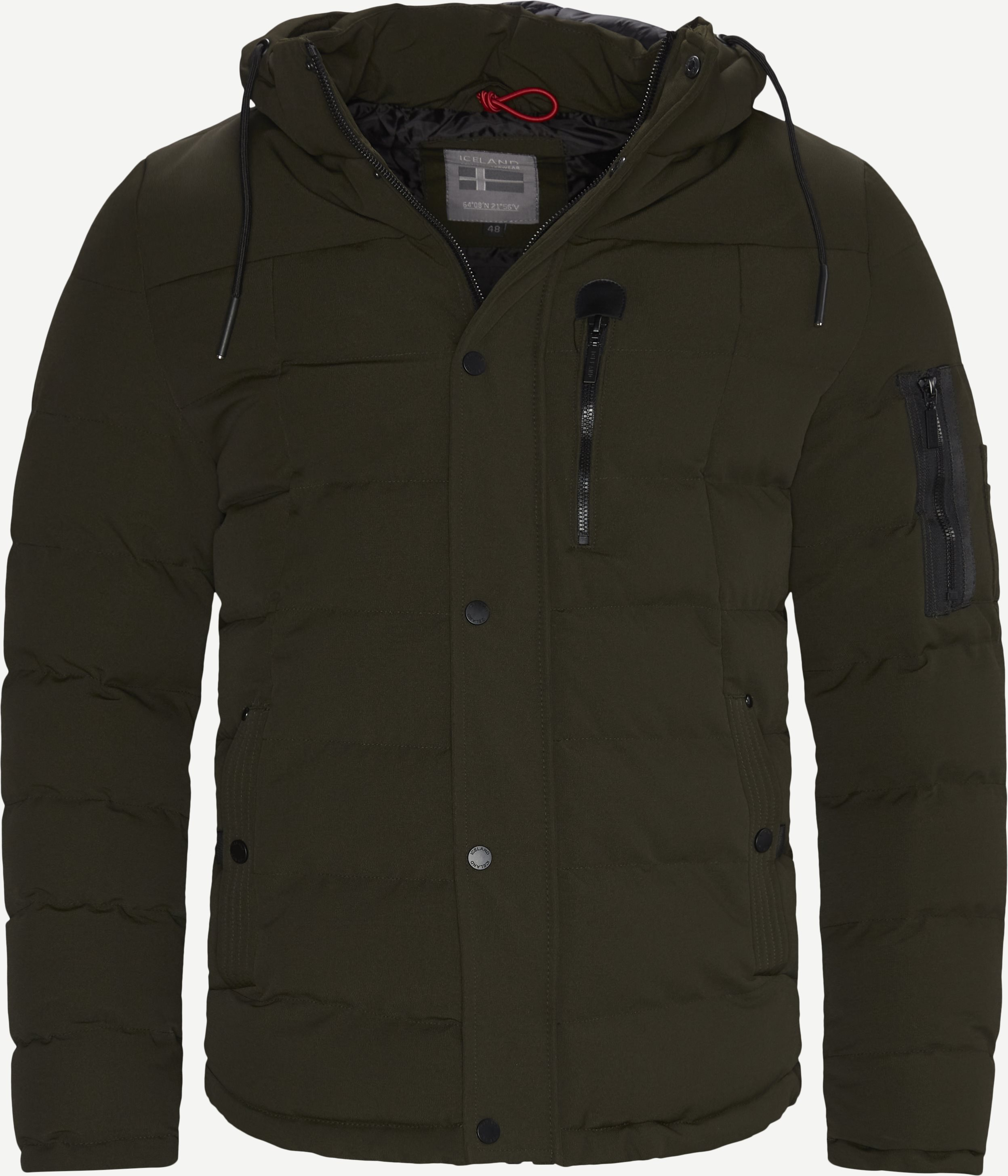 Selfoss Jacket - Jackets - Regular - Army