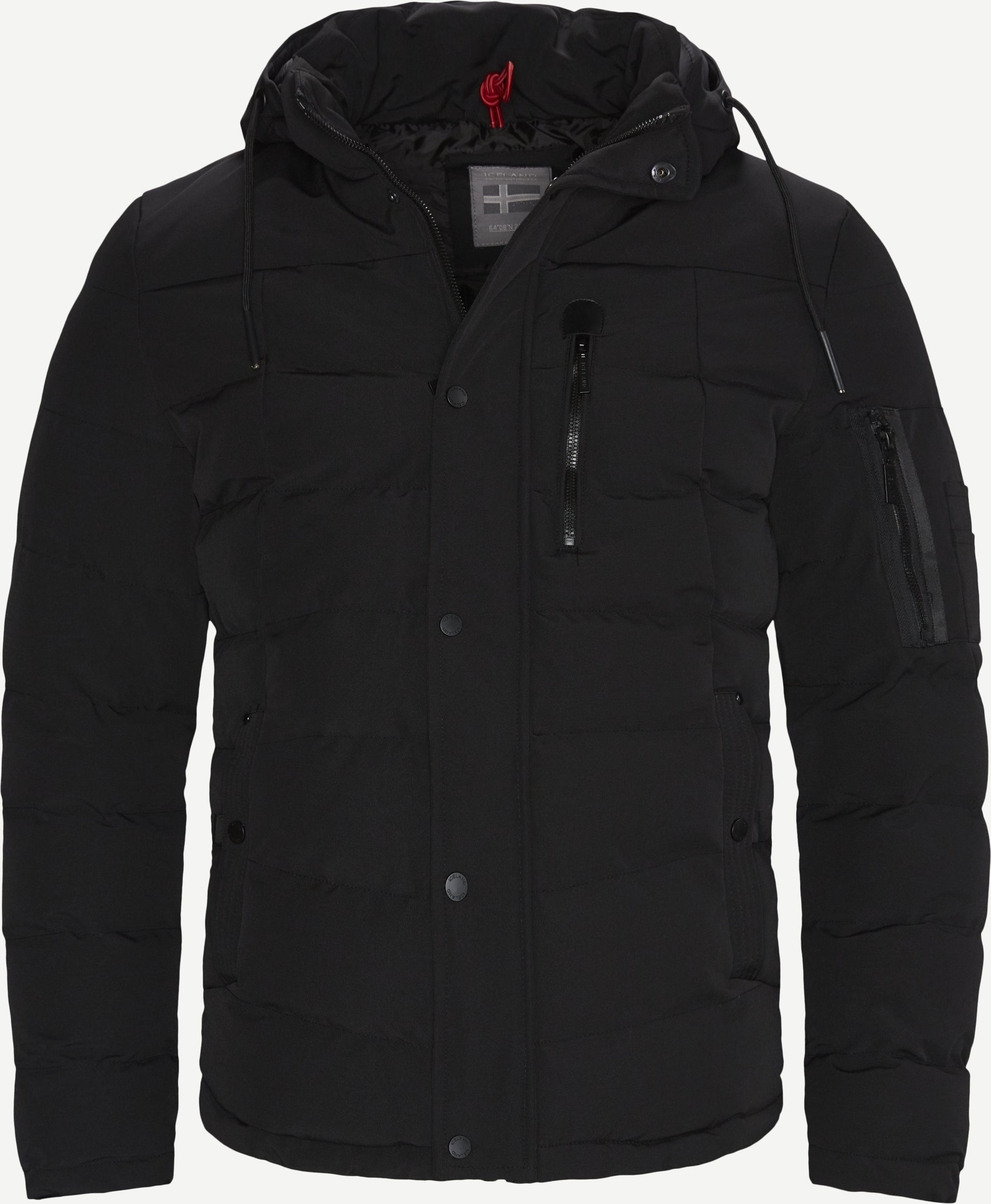Selfoss Jacket - Jackets - Regular fit - Black