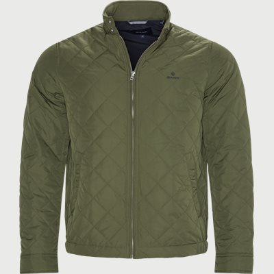 The Quilted Windcheater Jacket Regular | The Quilted Windcheater Jacket | Army