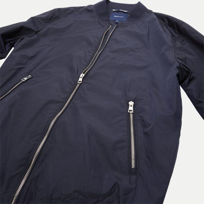 Airy Nylon Bomber Jacket