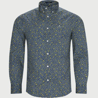 Lemonade Print Shirt Regular | Lemonade Print Shirt | Blå