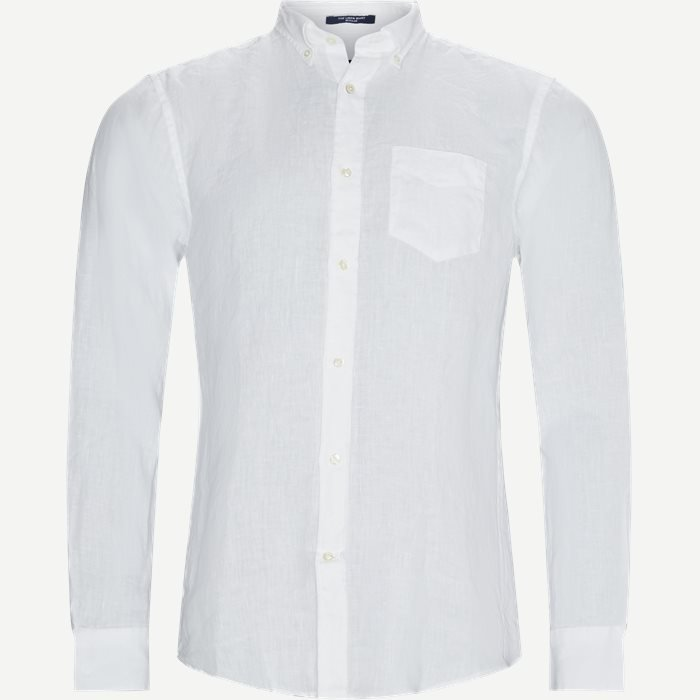 The Linen Shirt - Skjorter - Regular - Hvid
