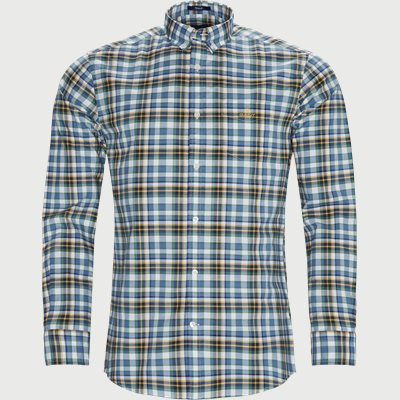 Preppy Oxford Plaid Shirt Regular | Preppy Oxford Plaid Shirt | Grøn