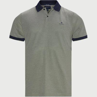 Oxford Pique Rugger Polo T-shirt Regular | Oxford Pique Rugger Polo T-shirt | Grøn