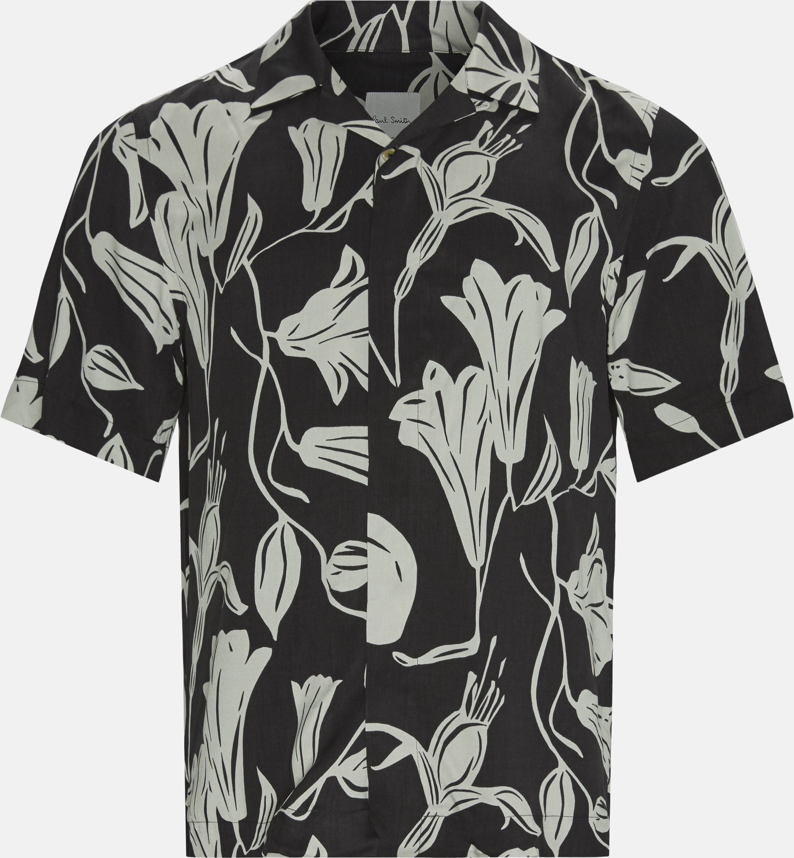 Printed shirts - Regular fit - Black