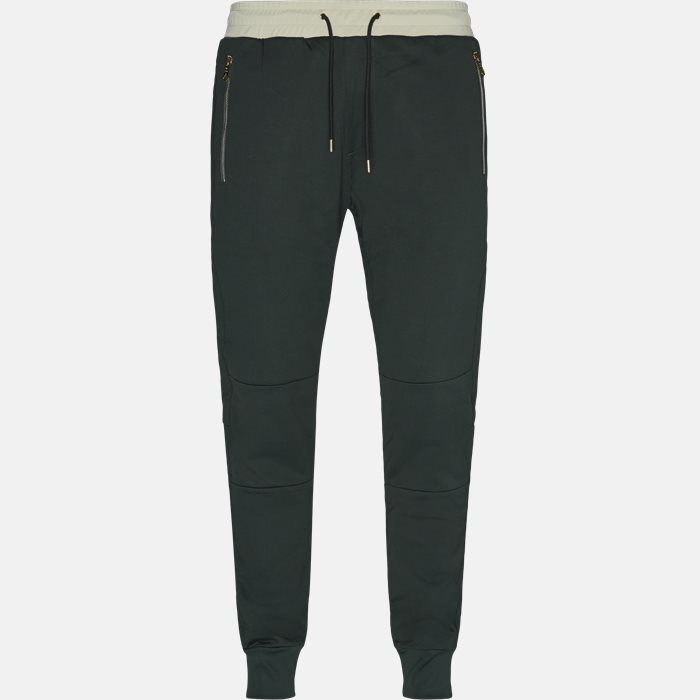 Trousers - Regular - Green