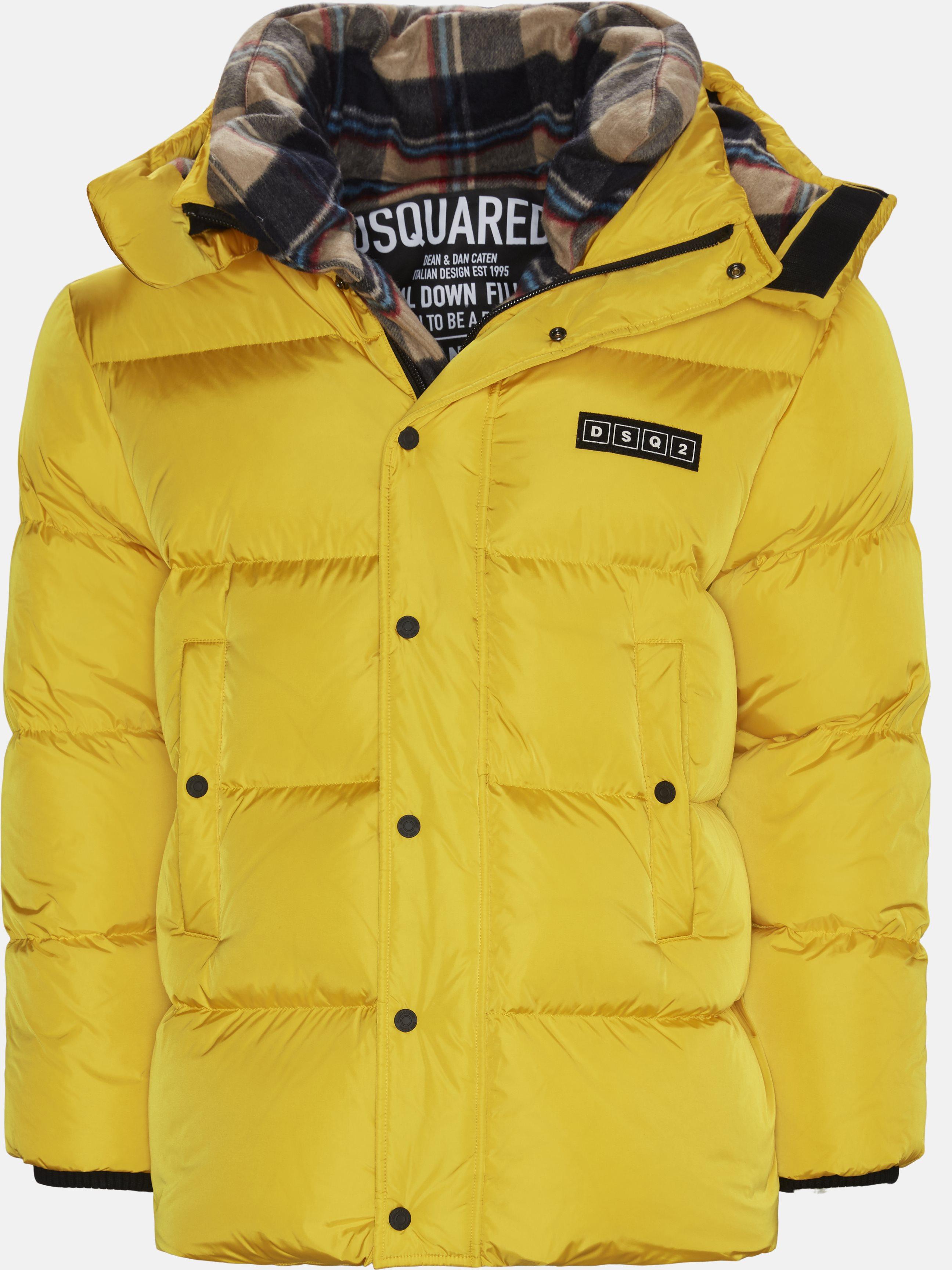 Jackets - Oversized - Yellow
