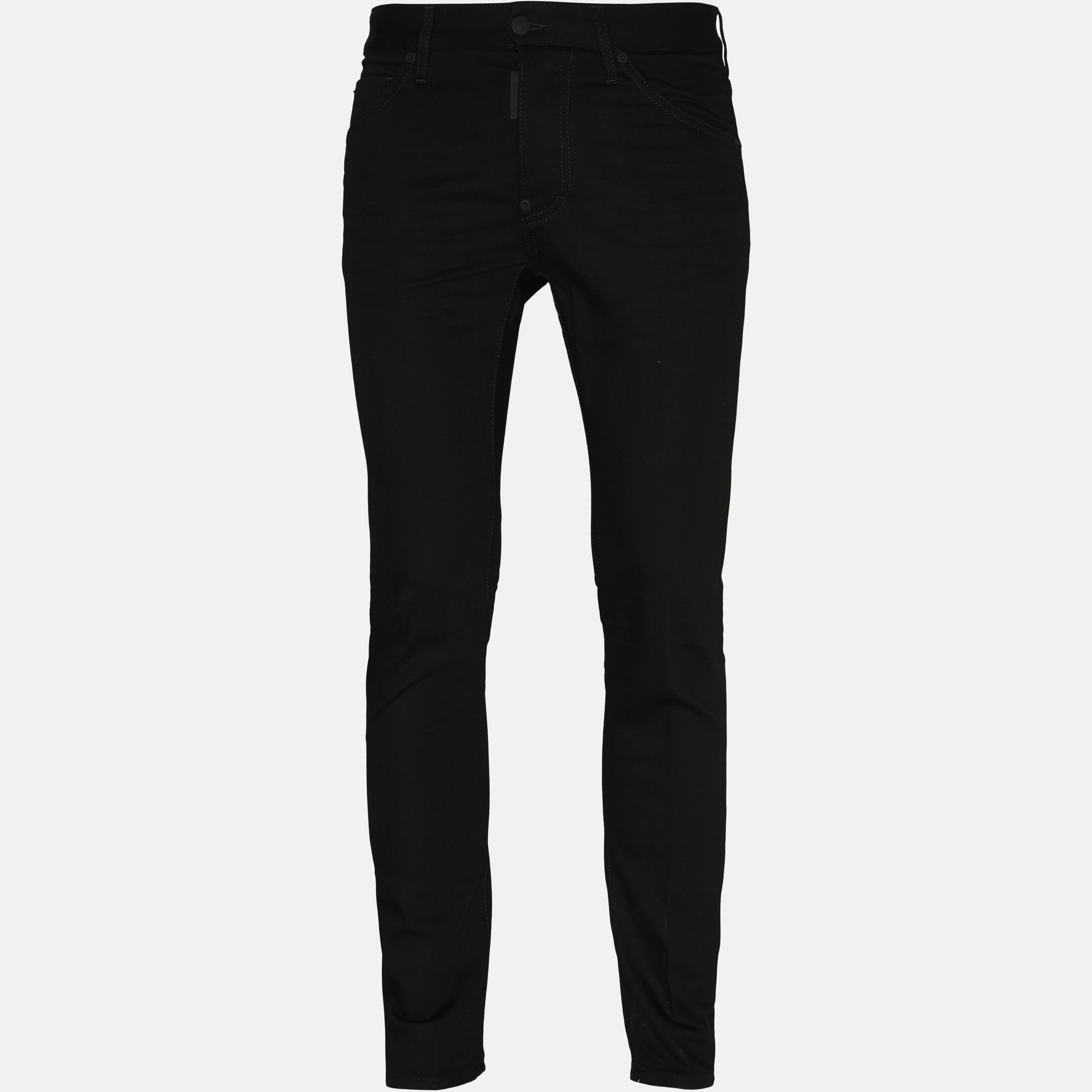 Jeans - Regular - Sort