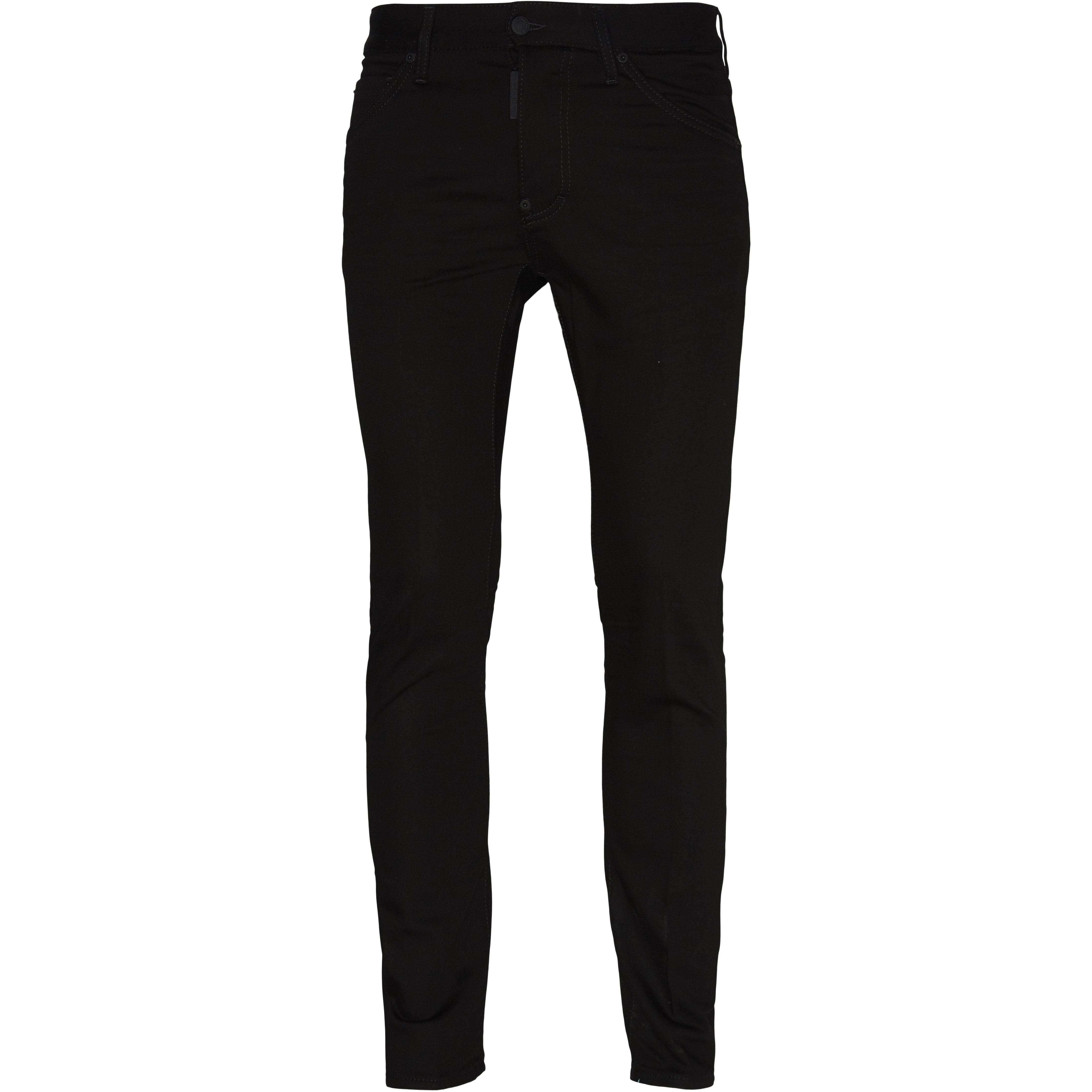 Jeans - Regular fit - Sort