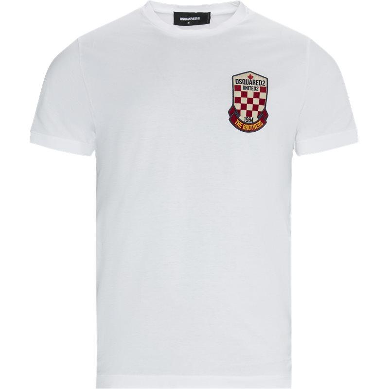 Billede af Dsquared2 Regular fit S22427 S74GD0722 T-shirts Hvid