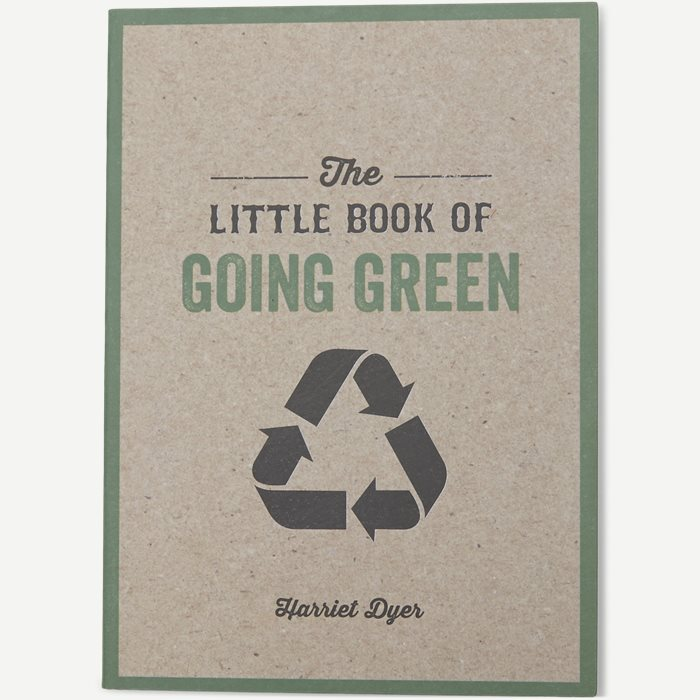 The Little Book Of Going Green - Accessories - Hvid