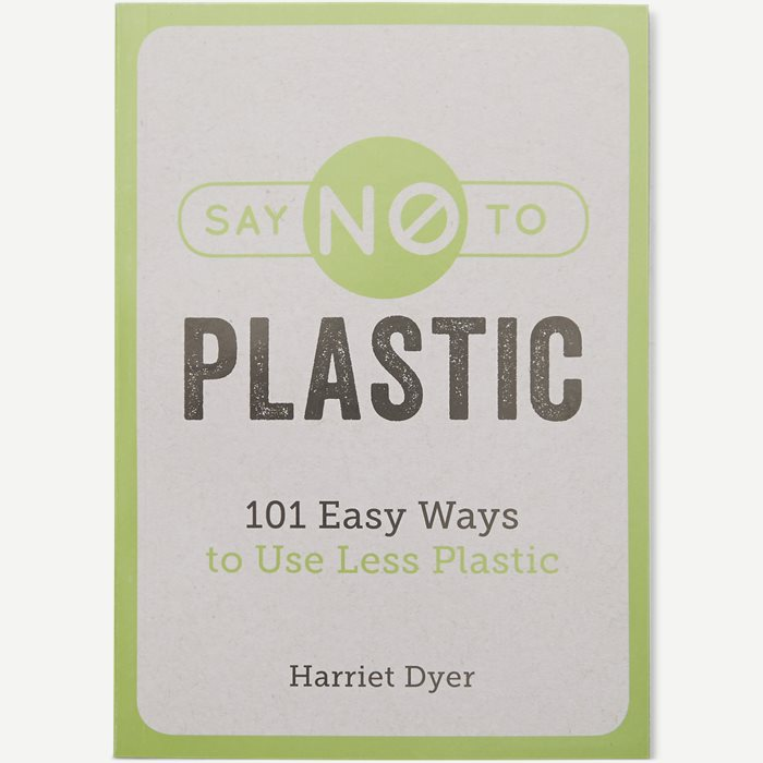 Say No To Plastic Book - Accessories - Hvid