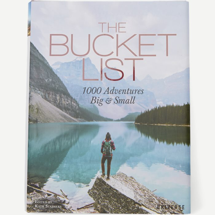 The Bucket List - 1000 Adventures Big And Small - Accessories - Hvid