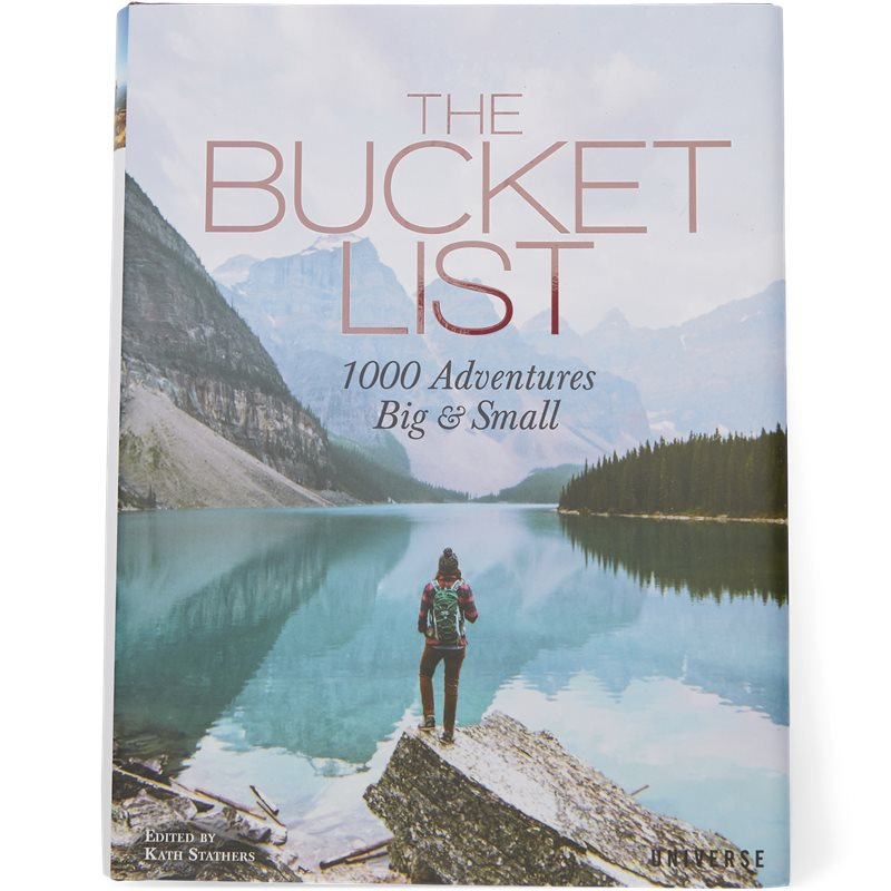 new mags – New mags - the bucket list - 1000 adventures big and small fra kaufmann.dk