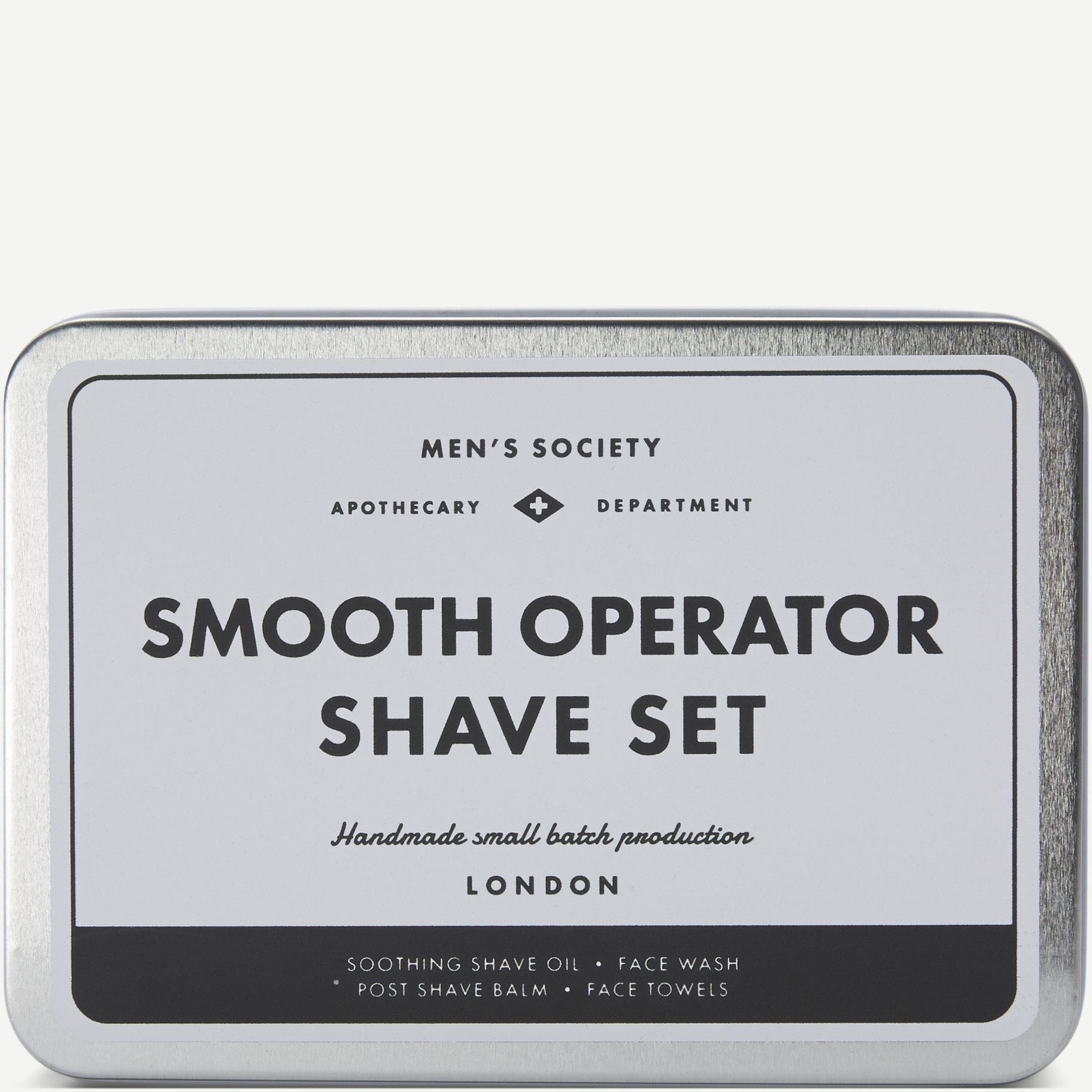 Smooth Operator Shave Set - Accessories - Grå