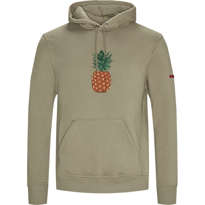 Pineapple Hoodie - Sweatshirts - Regular - Sand