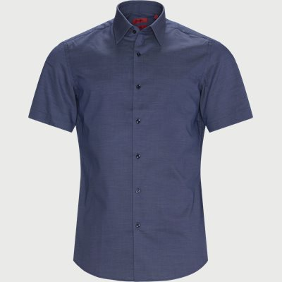 Regular | Short-sleeved shirts | Blue