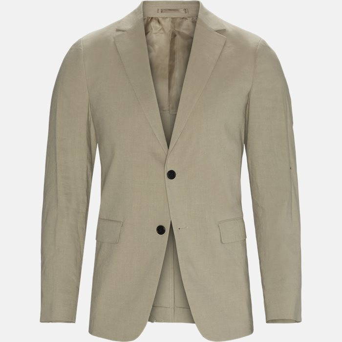 Blazer - Regular slim fit - Sand