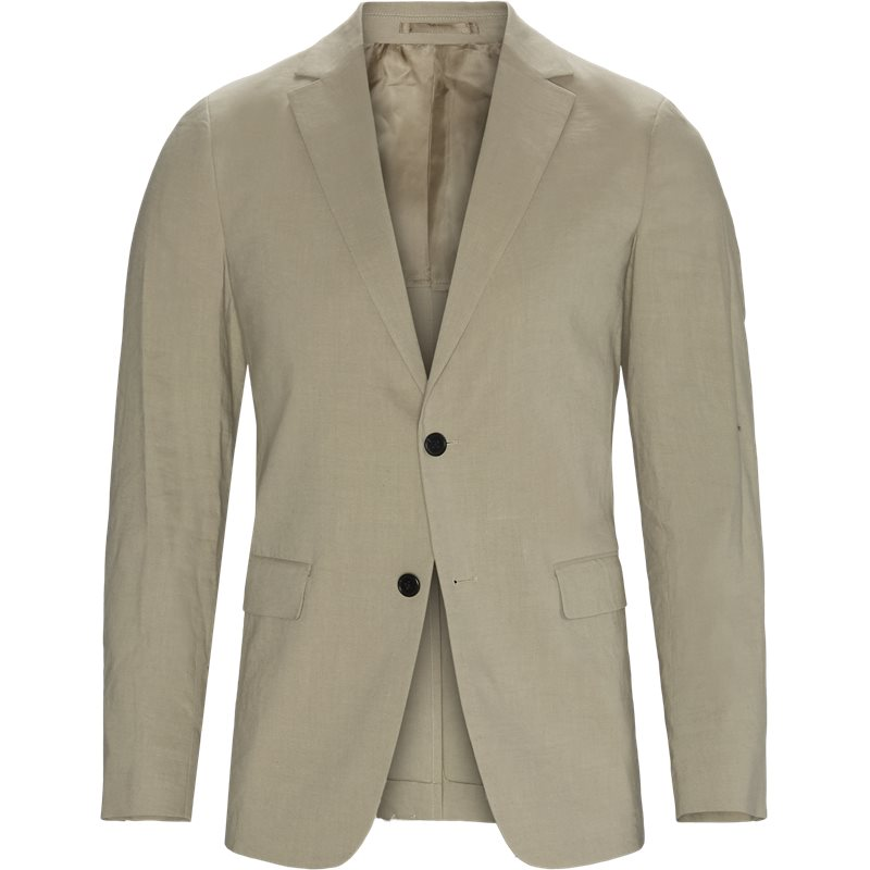 Billede af Link Theory Regular slim fit CLINTON ECO CRUNSH K373173 Blazer Beige