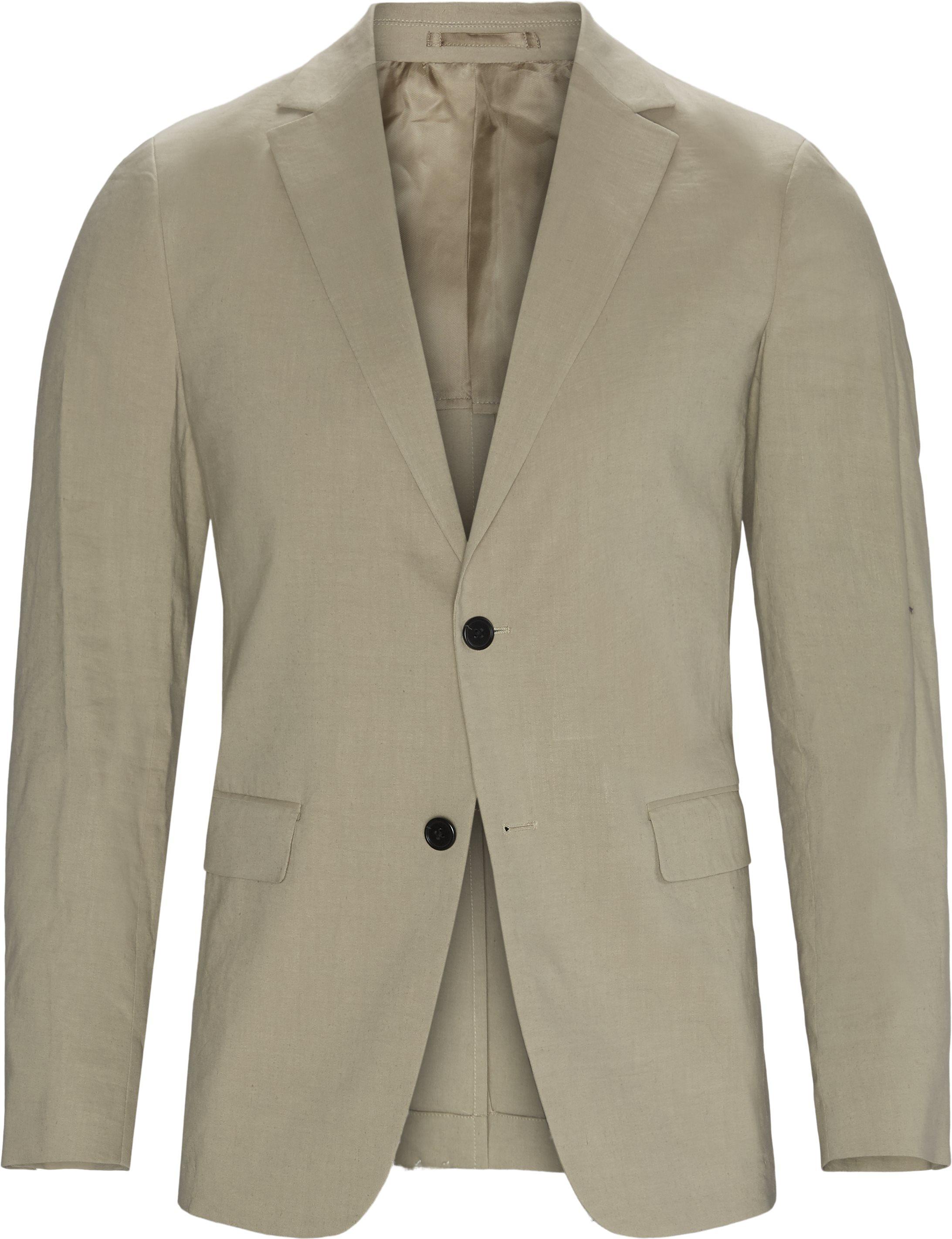 Suits - Regular slim fit - Sand
