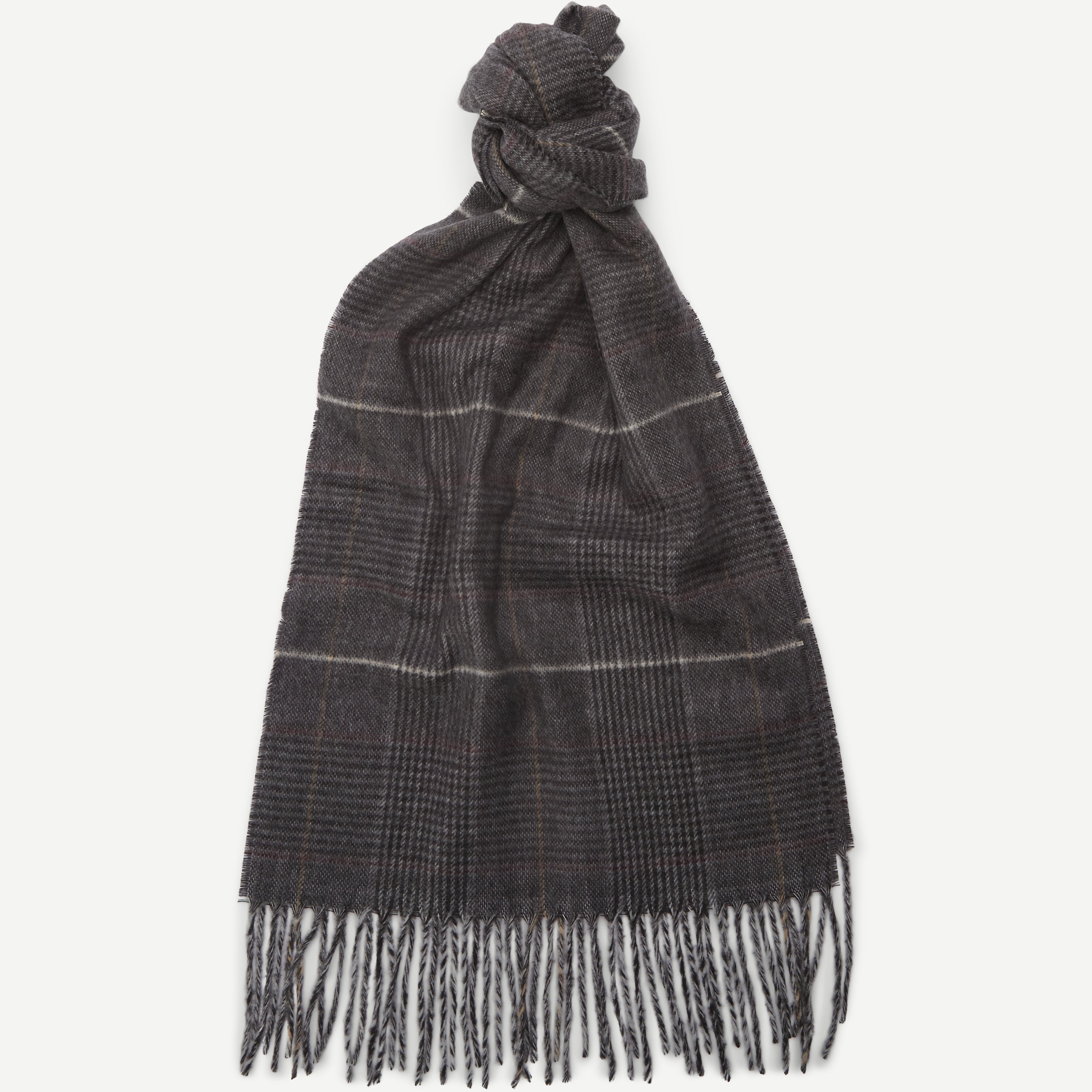 Malaga Halstørklæde - Halsdukar - Grå