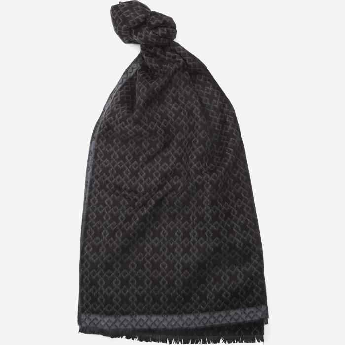 Bilbao Halstørklæde - Scarves - Black