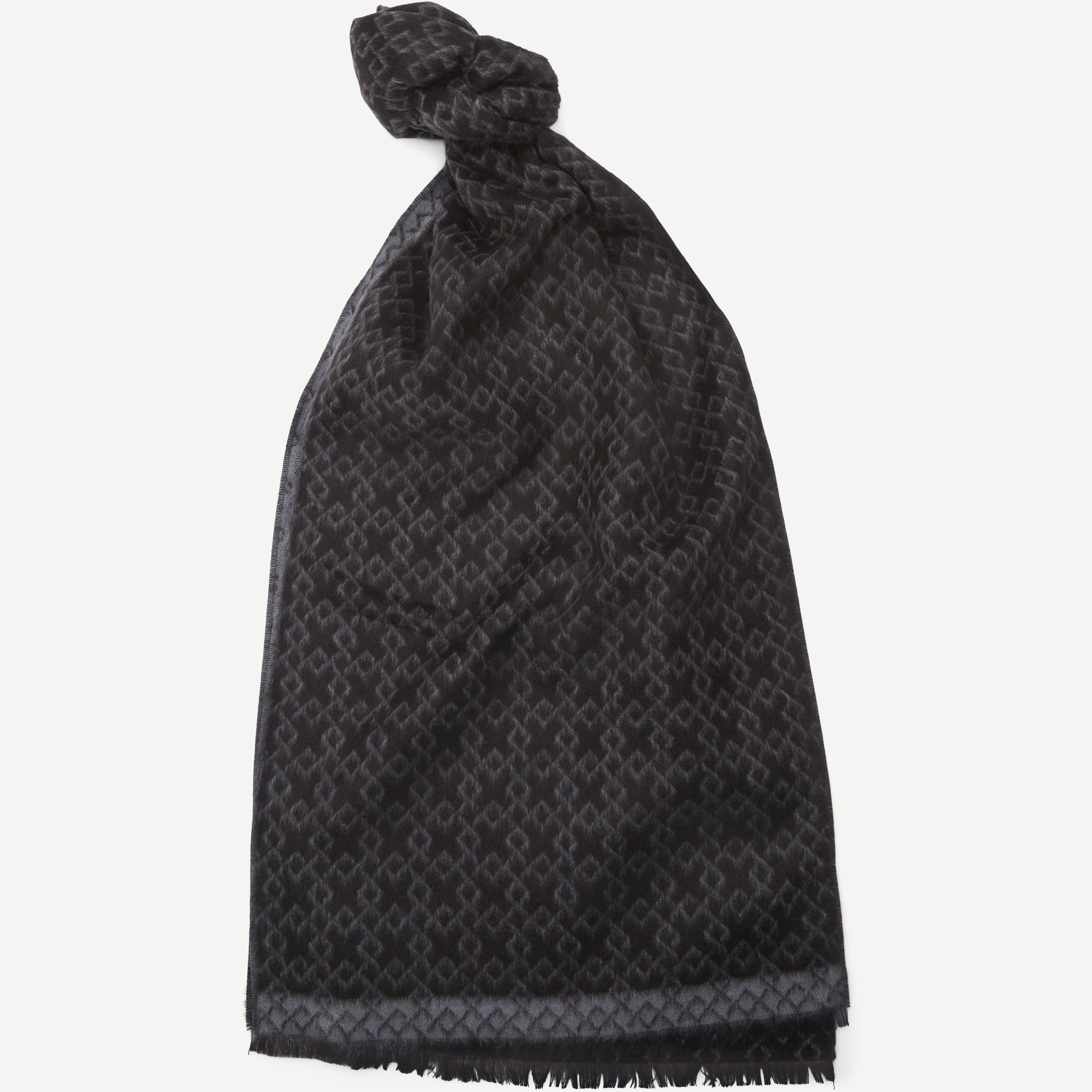 Bilbao Halstørklæde - Halsdukar - Svart